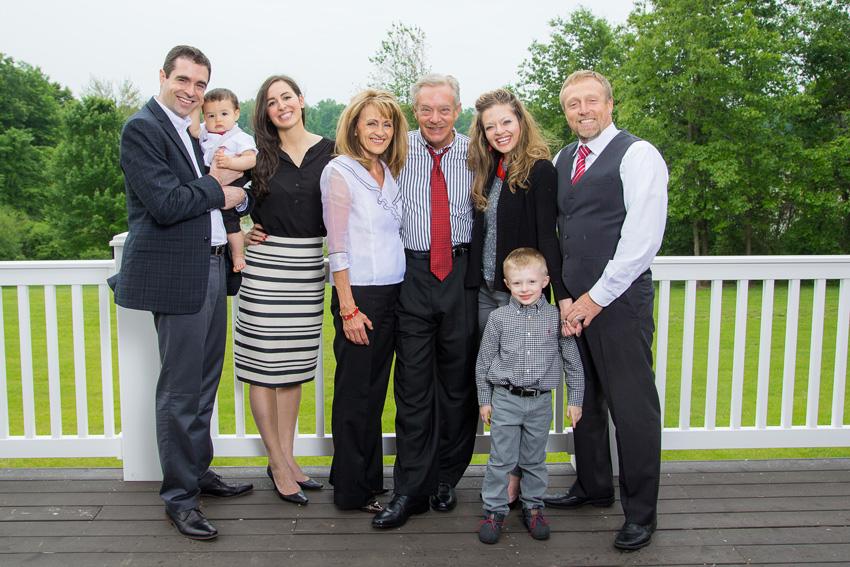 Dave & Mary Jo with Family