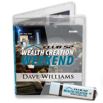 Wealth Creation Weekend USB
