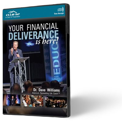 Your Financial Deliverance is Here!