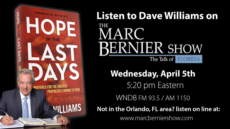 Listen to Dave Williams on the Marc Bernier Show