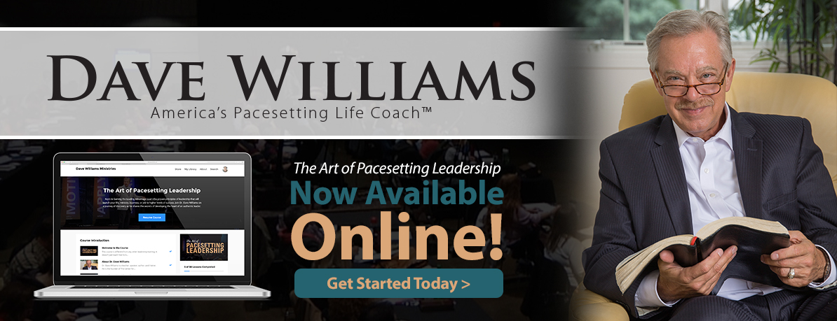 Dave Williams: America's Pacesetting Life Coach