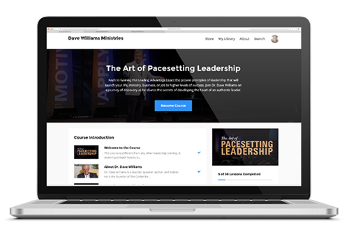 The Art of Pacesetting Leadership Course